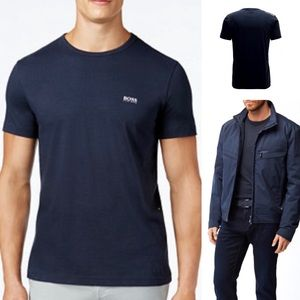 Classic Cotton Logo T-shirt Hugo BOSS Green Large